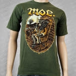 moe Billy Goat Green T-Shirt