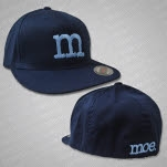 official moe Blue Logo Navy Hat