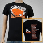moe Summer 2008 Tour Buffalo Black T-Shirt