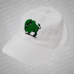 moe Buffalo White Hat