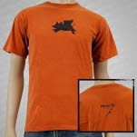 moe Buster Orange T-Shirt