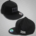 moe Charcoal Logo Black Hat