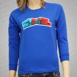 moe Fall Tour 2009 Youth Royal Blue Long Sleeve Shirt
