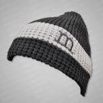 moe Grey Logo GreyWhite Hat