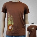 moe High Line Brown T-Shirt