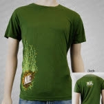 moe Highline Run Olive Green T-Shirt