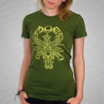 moe Insect Green Girls T-Shirt