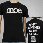 moe La La Black T-Shirt