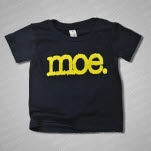 moe Logo Toddler Navy Blue T-Shirt