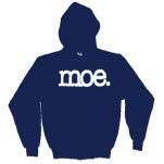 moe Logo Navy Blue Pullover