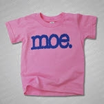 moe Logo Toddler Pink T-Shirt
