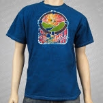 moe MoeDown 11 Batik Blue T-Shirt