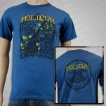 moe Moe Down 12 Blue T-Shirt