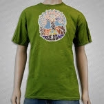moe Moe Down 12 Green T-Shirt
