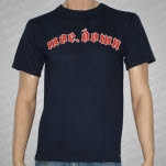 moe MoeDown X Navy Blue T-Shirt