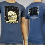 moe Monster And Skull Blue T-Shirt