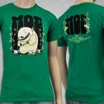 moe Monster And Skull Green T-Shirt