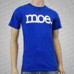 moe Moe Blue T-Shirt