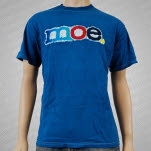 moe Moe Batik Blue T-Shirt