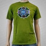 moe Phycodelic Logo Batik Green T-Shirt
