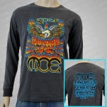 moe Rise And Shine Gray Long Sleeve Shirt