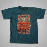 moe Rise And Shine Teal T-Shirt