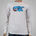 moe Rebubula White Long Sleeve Shirt