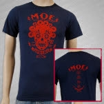 moe Rise And Shine Spring 2009 Navy Blue T-Shirt