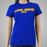 moe Snoe Down 2011 Blue Girls T-Shirt