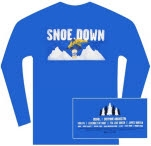 moe SnoeDown 2006 Blue Long Sleeve Shirt