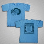 moe Summer Tour 2011 Light Blue T-Shirt