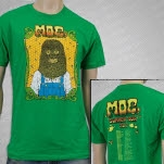 moe Summer Tour 2012 Green T-Shirt