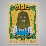 moe Summer Tour 2012 Screen Printed Poster