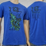 moe Summer Tour 2013 Blue T-Shirt