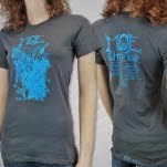 moe Summer Tour 2013 Charcoal Girls T-Shirt