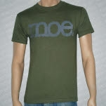 moe Subliminal Logo Army Green T-Shirt