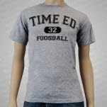moe Time Ed Heather Gray T-Shirt