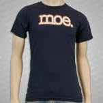 moe Tan Logo Blue T-Shirt