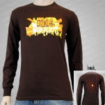 moe Winter Tour 2006 Brown Long Sleeve Shirt