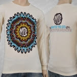 moe Winter Tour 2013 Cream Long Sleeve Shirt