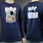 moe Winter Tour 2014 Navy Long Sleeve Shirt