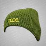 moe Yellow Logo Green Hat