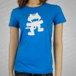 Monstercat Anniversary Logo Blue Girls T-Shirt