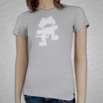 Monstercat Anniversary Logo Grey Girls T-Shirt