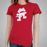 Monstercat Anniversary Logo Pink Girls T-Shirt