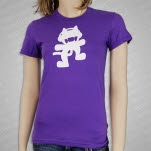 Monstercat Anniversary Logo Purple Girls T-Shirt