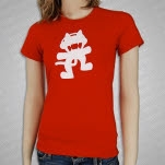 Monstercat Anniversary Logo Red Girls T-Shirt