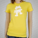 Monstercat Anniversary Logo Yellow Girls T-Shirt