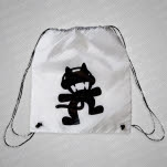 Monstercat Black Logo White Tote Bag