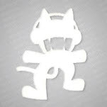 Monstercat White Logo Sticker